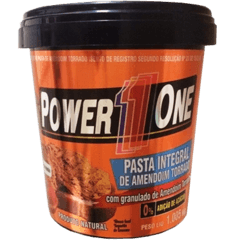 PASTA DE AMENDOIM INTEGRAL POWER 1 ONE COM GRANULADO 1,005KG