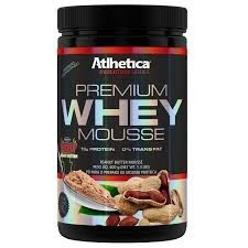 WHEY MOUSSE 600G ATLHETICA na internet