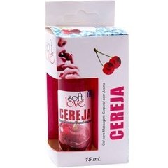 Gel Comestível - Cereja - Soft Love Ice 15ML