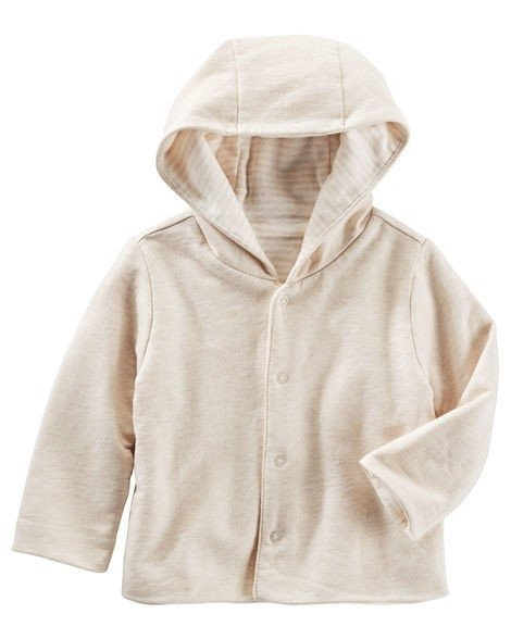 Campera Reversible Beige