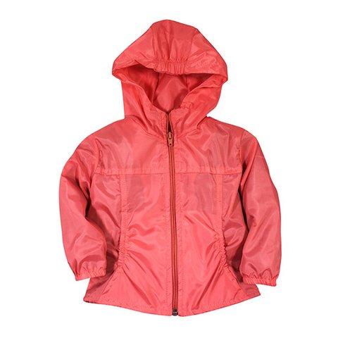 Campera Impermeable Coral