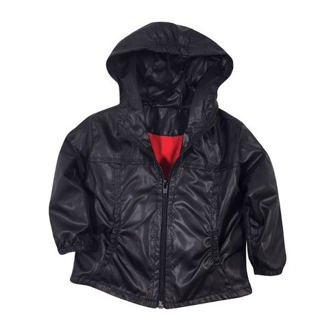Campera Impermeable Negra