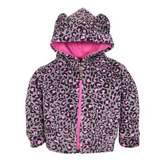 Campera Plush Animal Print