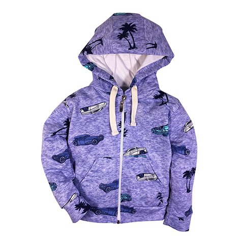 Campera Cars Azul