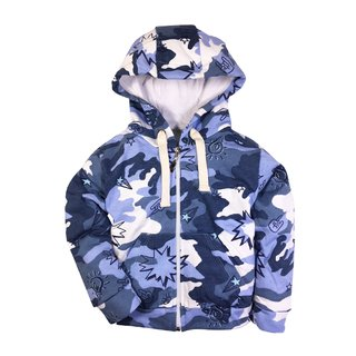 Campera Power Azul