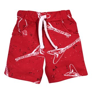 Short Guitarra Rojo