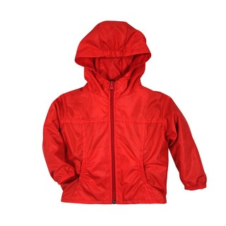 Campera Impermeable Roja