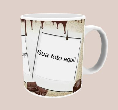Caneca Amo mais que Chocolate na internet