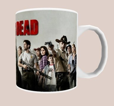 Caneca The Walking Dead na internet