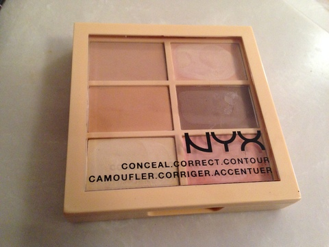 NYX - Conceal, Contour and Correct Palette