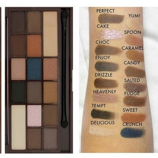 I ♡ Makeup - Chocolate Salted Caramel Palette en internet