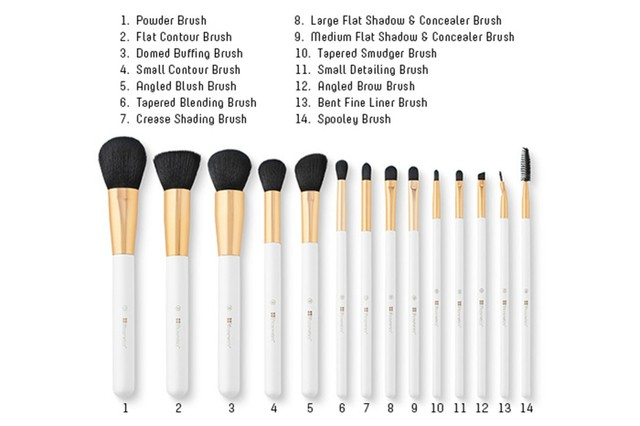 BH Cosmetics - 14 Piece Signature Brush Set - comprar online