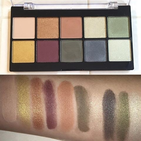 NYX - Perfect Filter Palette - Olive You en internet