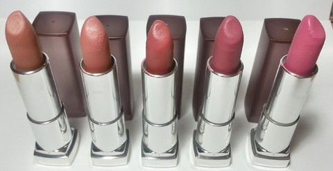 Maybelline - The Nude lipsticks