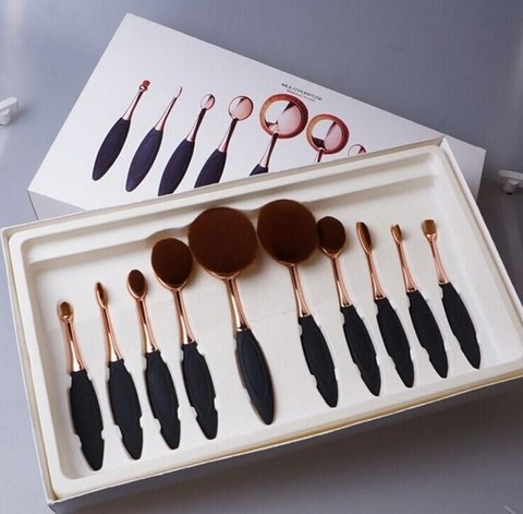 Oval Brush Set x 10