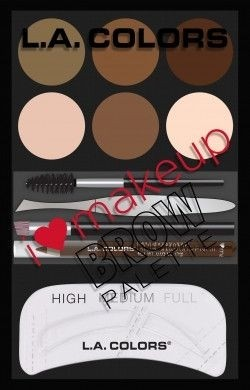 LA Colors - Makeup Brow Palette