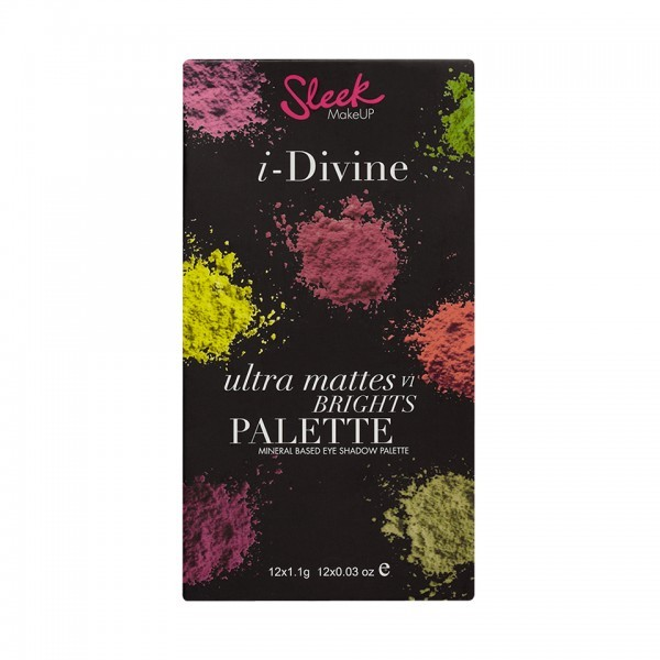 Sleek Make Up - Ultra Mattes Brights Palette - comprar online