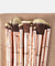 BH Cosmetics - Brush Set Metal Rose - online store