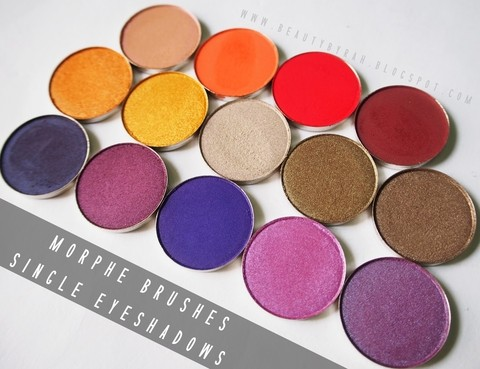 Morphe - Single Eyeshadows