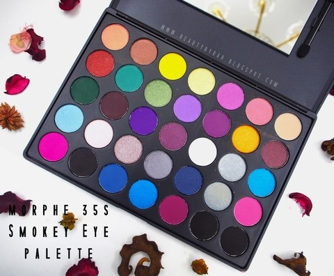 Morphe - 35S Smoky Eyes Palette