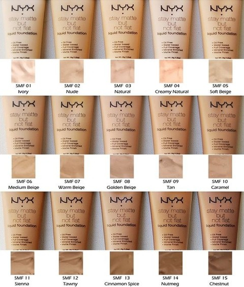NYX - Stay Matte Foundation