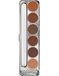 Kryolan - Dermacolor Camouflage Cream Palette - Make Up Importado
