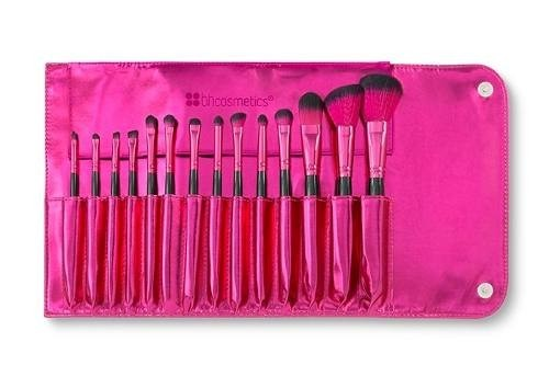 BH Cosmetics - Metallic Pink -14 Piece Brush Set - comprar online