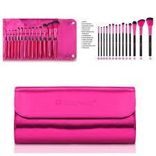 BH Cosmetics - Metallic Pink -14 Piece Brush Set en internet