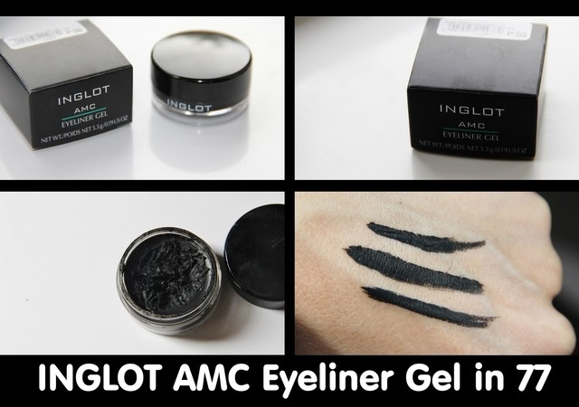 INGLOT - Eyeliner Gel (Waterproof) - Make Up Importado