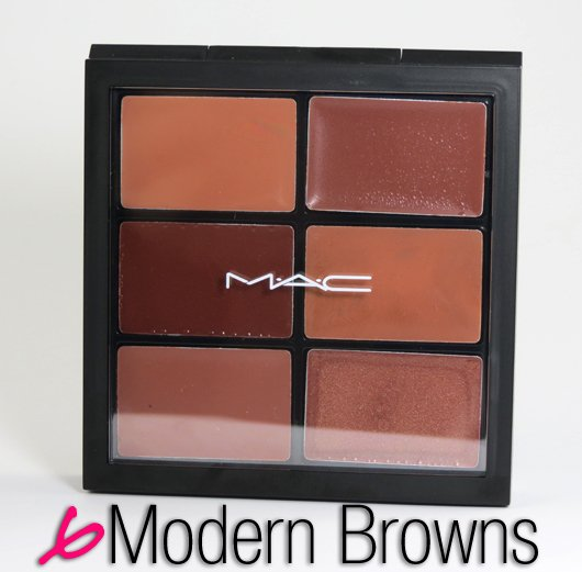 MAC - Pro Lip Palette - 6 Modern Browns