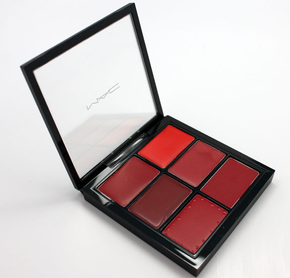 MAC - Pro Lip Palette - 6 Editorial Reds