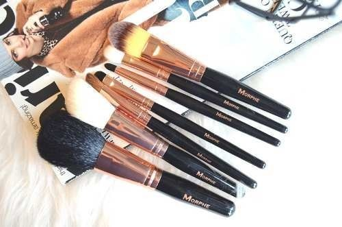 Morphe Brushes - SET 701 - 7 Piece Rose Set en internet