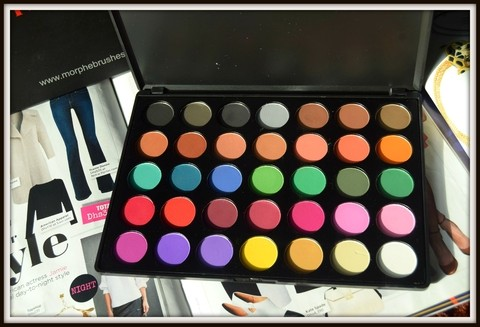 Morphe - 35C Multi Color Matte Palette