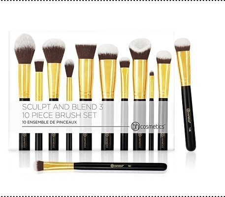 BH Cosmetics - Sculpt and Blend 3 – 10 Piece Brush Set - comprar online