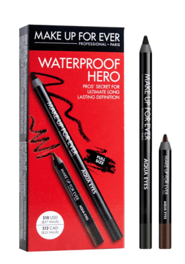 Make Up For Ever - Waterproof Hero Set de Delineadores