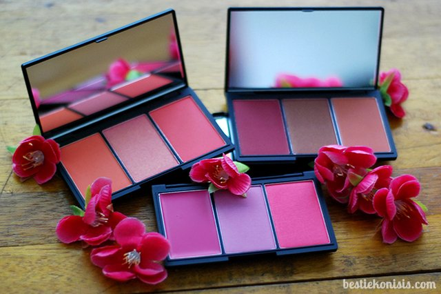 Sleek Make Up - Blush by 3 Palette