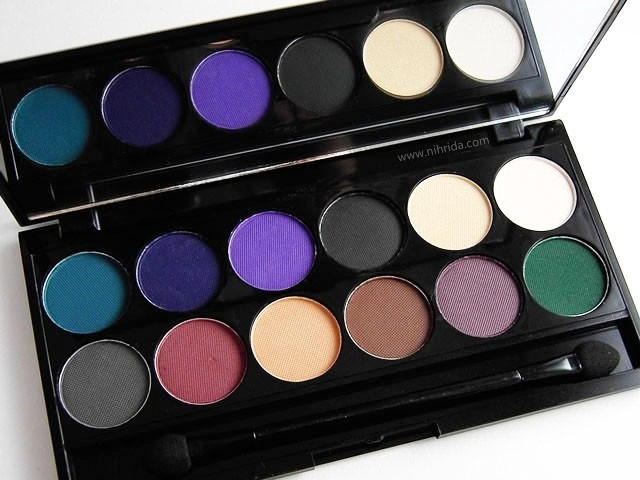 Sleek Make Up - Ultra Mattes Darks Palette
