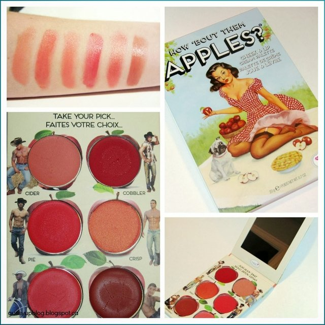 TheBalm - How ´Bout Them Apples? Palette