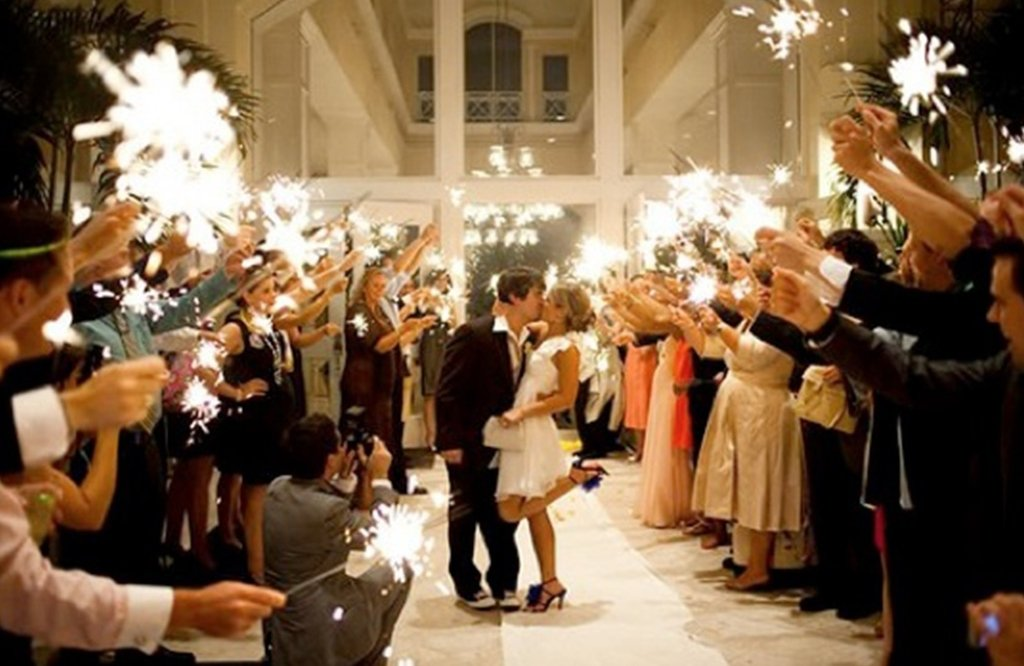 3 Fun Reasons To Have A Sparkler Send off