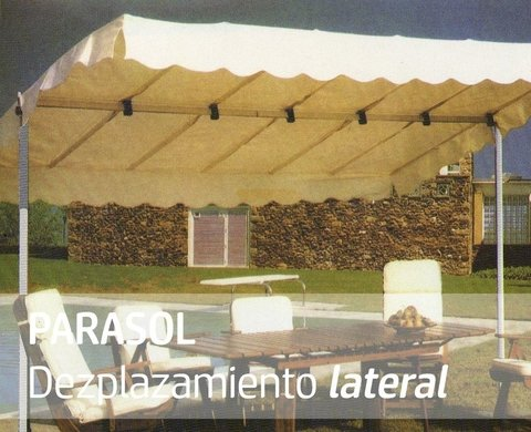 Parasol Eje Lateral