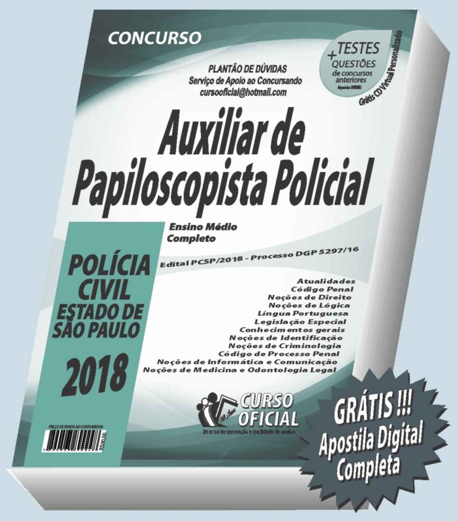 Pcsp Auxiliar De Papiloscopista