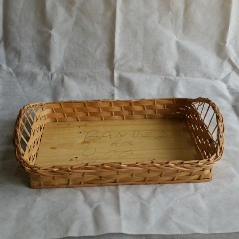 Cesta de Vime Bandeja-g combo 12 cestas