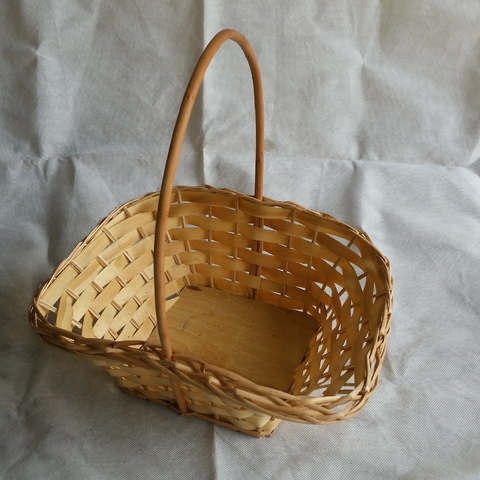 Cesta de Vime Classica Grande combo 12 cestas