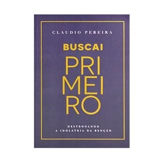 Buscai primeiro - Cláudio Pereira