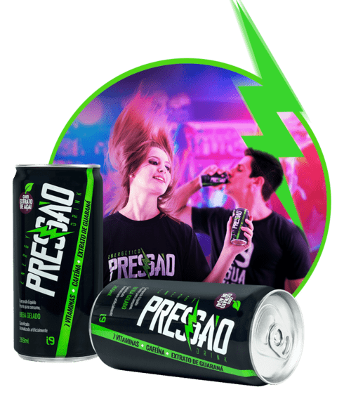 ENERGY DRINK  PRESSÃO