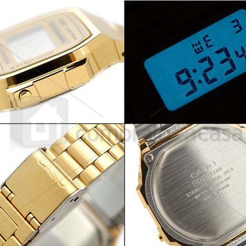 ccd139e38b22 reloj casio original dorado