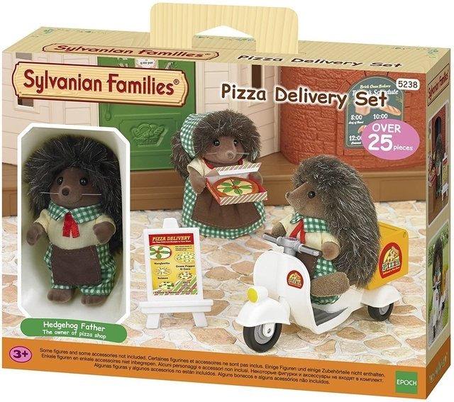 SYLVANIAN FAMILIES PIZZA DELIVERY #5328 -X-