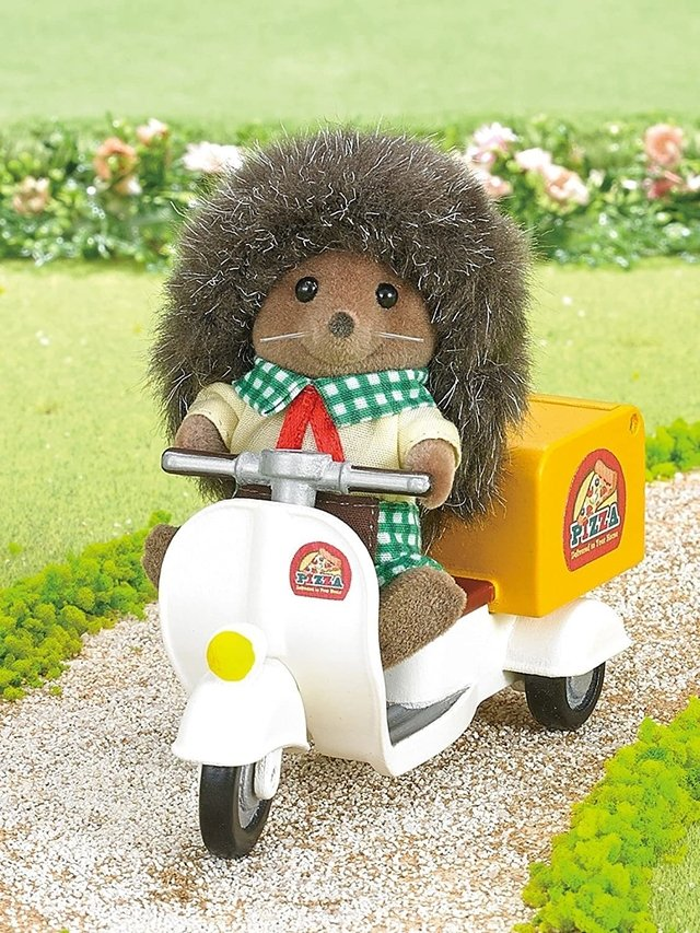 SYLVANIAN FAMILIES PIZZA DELIVERY #5328 -X- - comprar online
