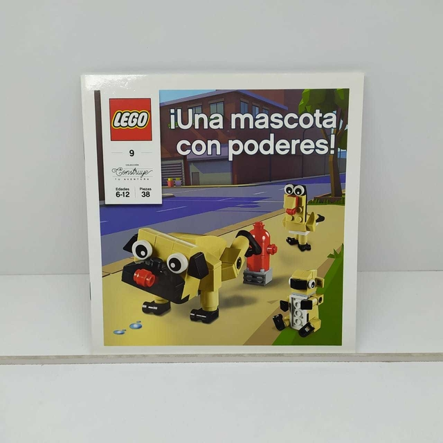 MINI LIBRO LEGO en internet