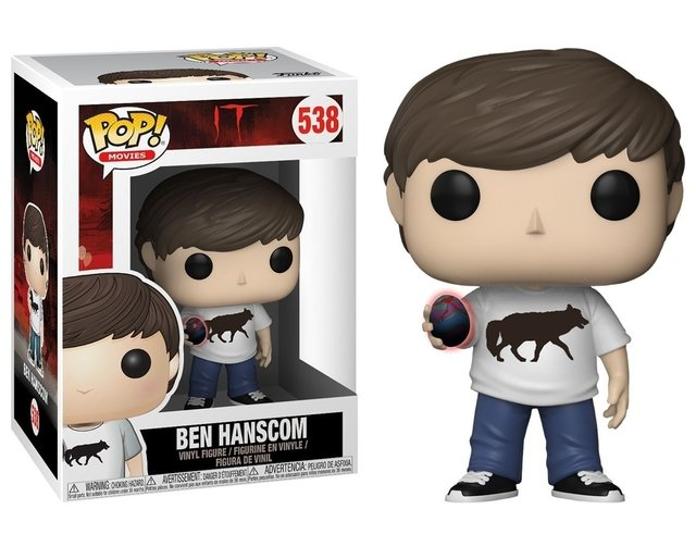 IT BEN HANSCOM FUNKO  POP ORIGINAL